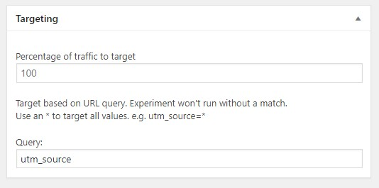 targeting query